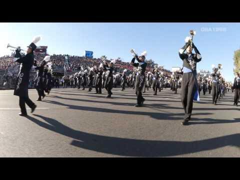 ROSE PARADE 2016 TOHO High School Green Band 【multi-camera & high quality sound】