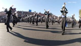 ROSE PARADE 2016 TOHO High School Green Band 【multi-camera & high quality sound】