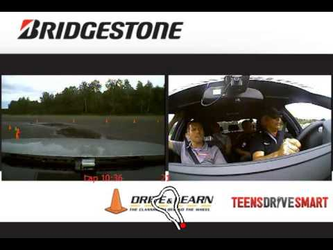Bridgestone Tire test by Michel Levesque - Run 1