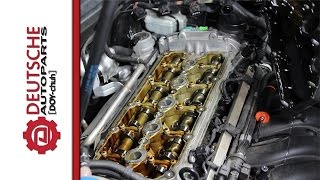 How to Replace a Valve Cover on a VW 2.5L 5 Cylinder Engine (PCV Valve Built In)
