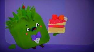 Четверо в кубе - Кубо Кафе - развивающий мультфильм для детей