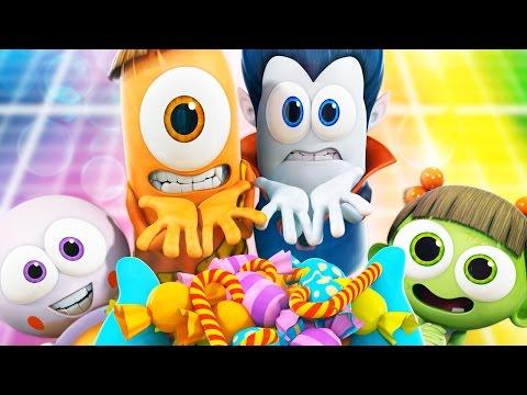 Halloween | Spookiz: Halloween Special Compilation | Halloween Cartoons 스푸키즈