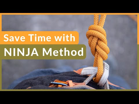 How to tie into the harness with Perfect Figure 8 knot every time