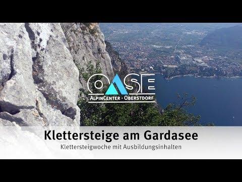 Klettersteig Oberstdorf : Klettersteigwoche mit ausbildungsinhalten am gardasee: klettersteige