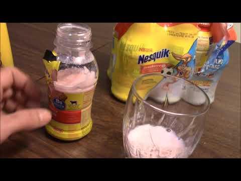 Nesquik Expired Milk From Walmart In Alpena Michigan!! Grossest Thing Ever!!