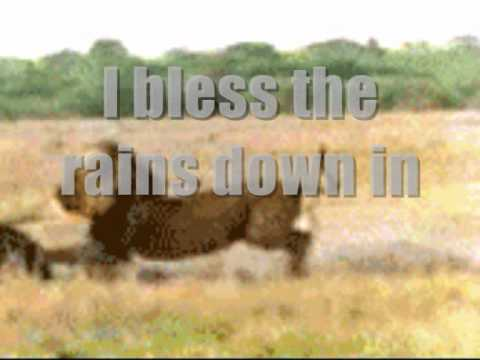 Toto ...Africa..with lyrics on screen
