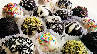 Special Biscuit chocolate truffles §§ Homemade chocolate§§ DIY chocolates §§