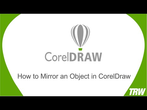Mirroring An Object In Coreldraw