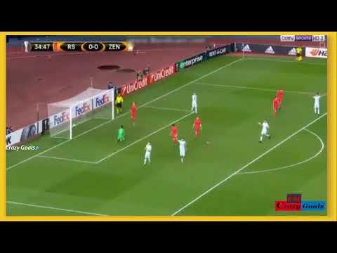 Aleksandr Erokhin Goal! Real Sociedad [0:1] Zenit! European league (07/12/2017) HD