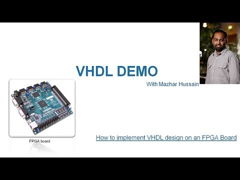 How to Implement VHDL design for a Range sensor on an FPGA.