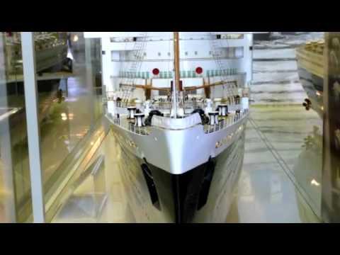 Clyde Built Ship Models at riverside Musuem Glasgow