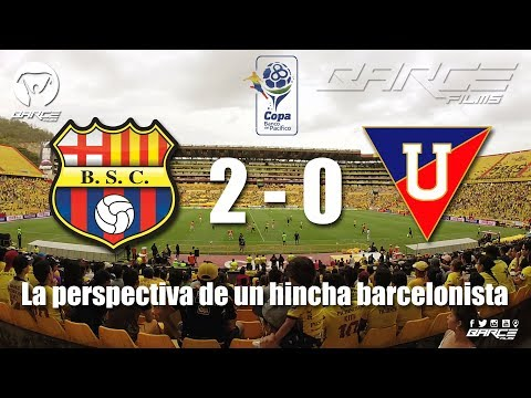 Barcelona S.C 2 vs Liga de Quito  0 fecha 16 segunda etapa CBP2017