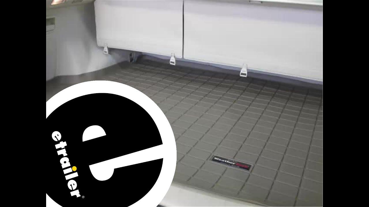 Weathertech floor mats lexus rx 330 - Review Of The Weathertech Cargo Floor Liner On A 2010 Lexus Rx 350 Etrailer Com