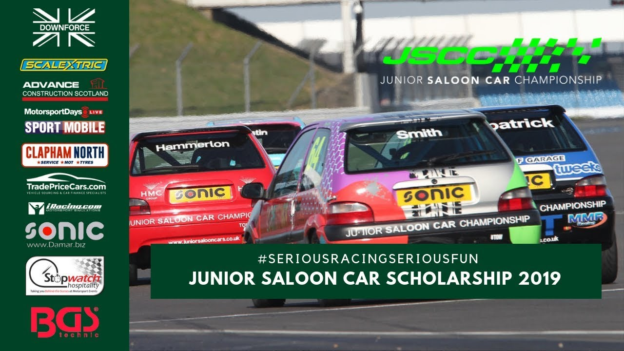 Junior Saloon Car Championship Scholarship 2019 - #SeriousRacingSeriousFun