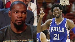 Kevin Durant Gets SAVAGELY Trolled by Joel Embiid for Using Burner Accounts