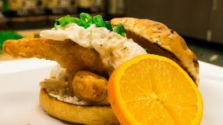 Beer Battered Fish Sandwich With Crab Tartar Sauce Recipe