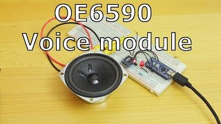 Add Sound Effects To Your Arduino With OE6590 | Available from ICStation.com