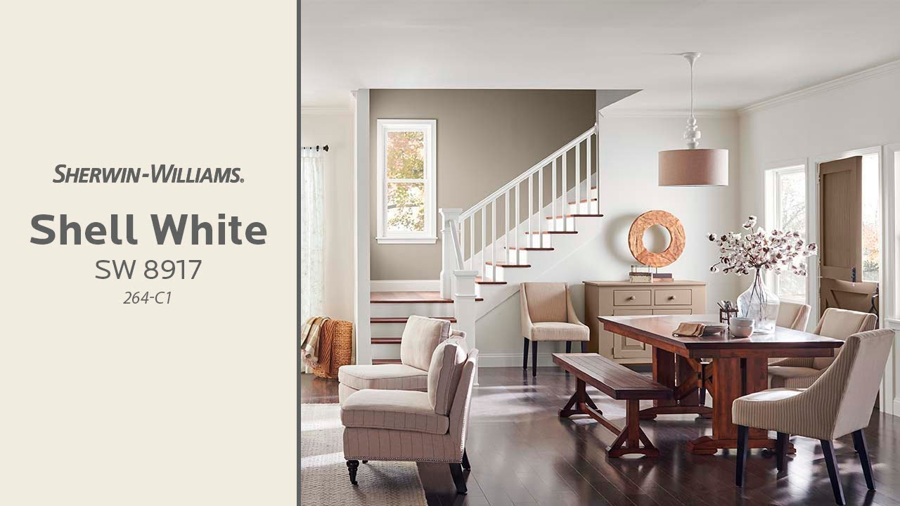 October 2018 Color of the Month Shell White  Sherwin
