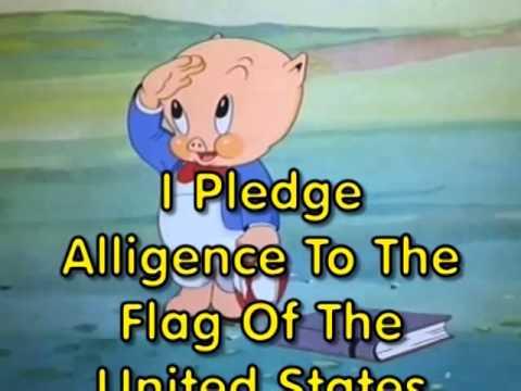 PORKY PIG – PLEDGE OF ALLEGIANCE