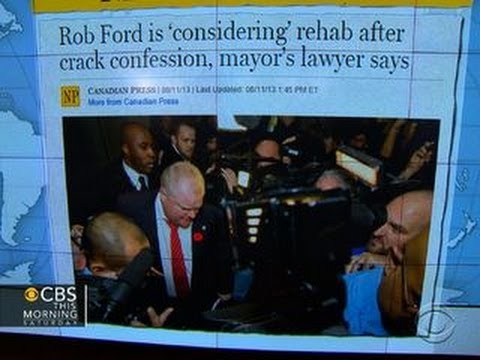Headlines: Toronto Mayor Rob Ford considering rehab