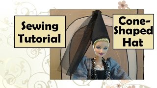 Cone Shaped Princess Hat Diy Tutorial