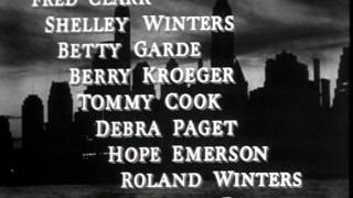 Cry of the City 1948 -- OPENING TITLE SEQUENCE