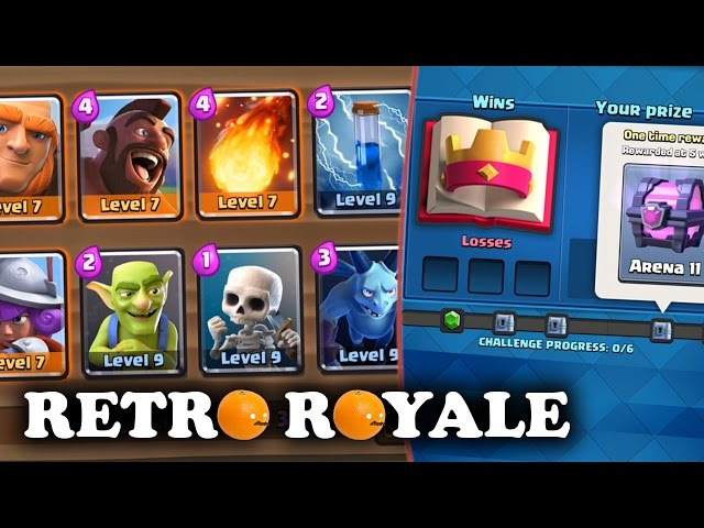 Retro Royale Challenge | Giant Hog Deck | Ft. Wings #1 Global Player