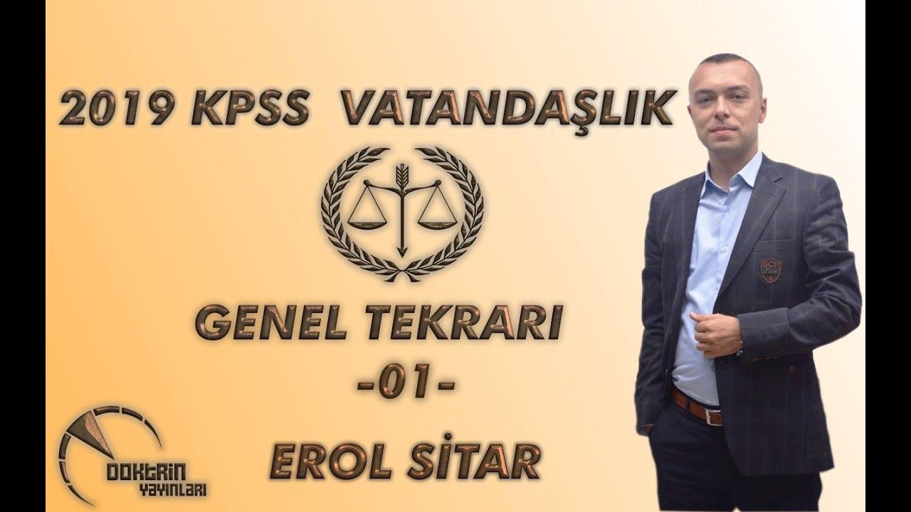 KPSS Vatandaşlık Erol SİTAR - 1