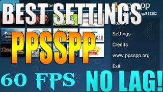 Best PPSSPP Android Setting For 60 FPS Gameplay With No lag   VM-TECH