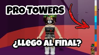 LLEGARÉ AL FINAL? TOWER OF HELL PRO - ROBLOX