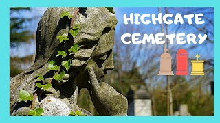 The historic Highgate Cemetery, London, a walking tour