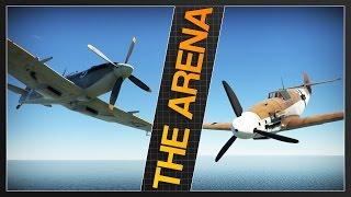 SPITFIRE F Mk. IX vs. BF 109 G-2/Trop | The Arena ft. Telsion | War Thunder [RB]