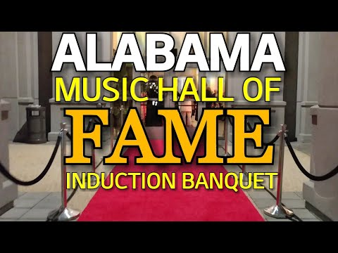 ALABAMA Music Hall of Fame Induction Banquet 2018