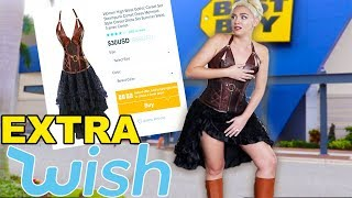 Wearing Very EXTRA Wish Clothes IN PUBLIC!! SO EMBARRASSING!