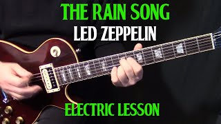 "how to play ""The Rain Song"" on guitar by Led Zeppelin Part 2 - electric guitar lesson"
