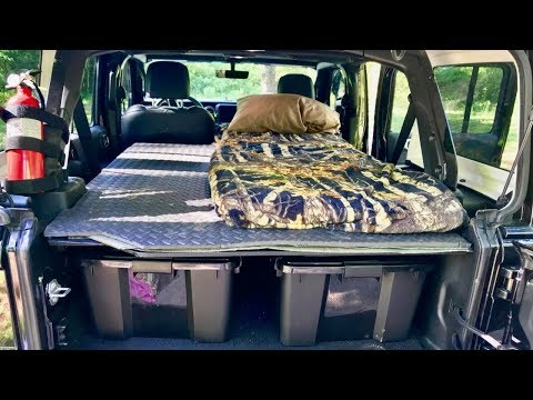 Platform Bed for Jeep Wrangler Unlimited JL 2018