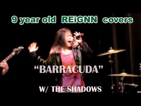AMAZING PIPES- 9 year old Reignn Acedera sings Barracuda- Monmouth Regional High School Got Talent