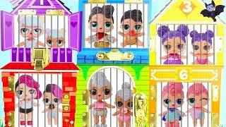 LOL Surprise Dolls Lil Sisters find Big Sisters
