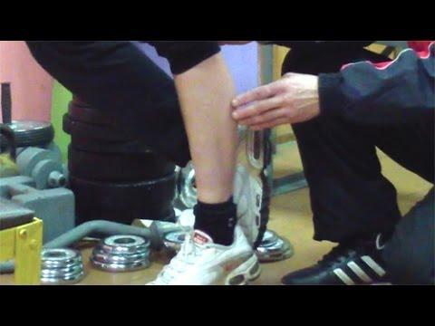 Как уменьшить икры на ногах мужчине