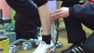 видео Упражнения для уменьшения Икр. Растяжка. Сжигание объема жира. Видео.