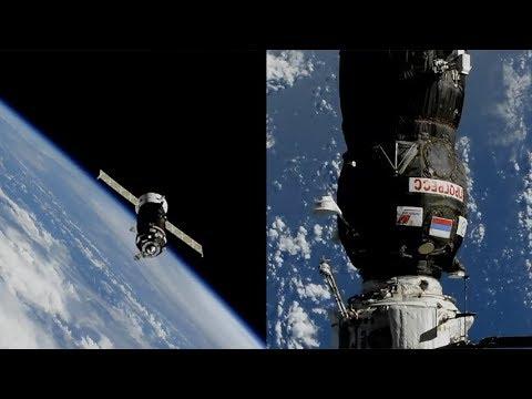Soyuz MS-06 docking to the ISS | Doovi