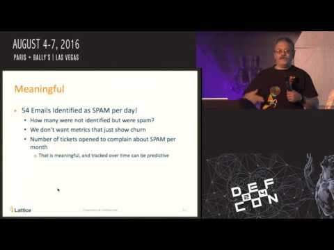 "Packet Hacking Village 2016, Walt Williams, ""Presenting Security Metrics to the Board,"" DEF CON 24"