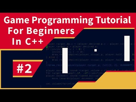[Tutorial] How to program a game in C++: #2 - Drawing Graphics thumbnail