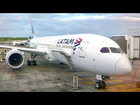 LATAM Business Class Review - Boeing 787-9 'Dreamliner' - Auckland (AKL) to Sydney (SYD)