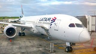 LATAM Business Class Review - Boeing 787-9