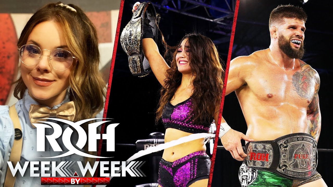 All the Fallout From Death Before Dishonor on ROH Week By Week!