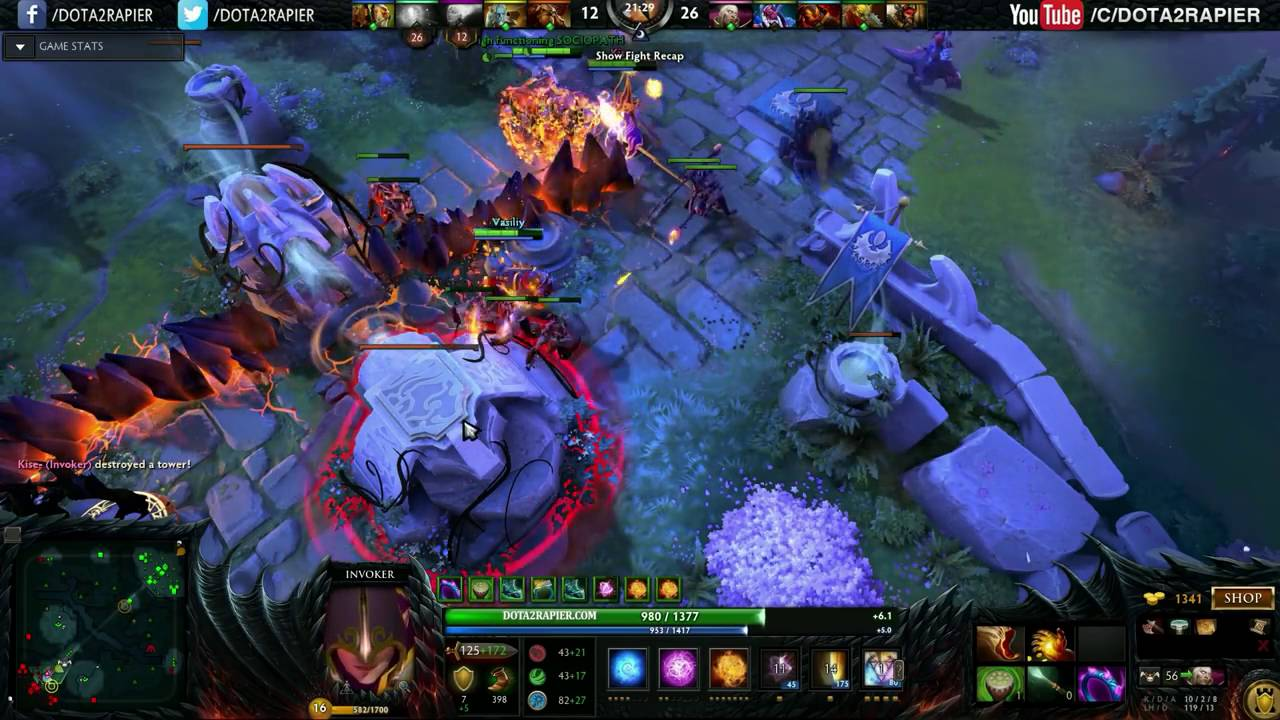 dota 2 miracle dota 2 invoker ranked match today is your bad day