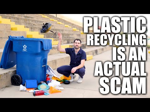 Plastic Recycling is an Actual Scam   Climate Town