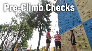 Pre Climb Checks - Sport Climbing Level 1 Tutorial | MOA Academy