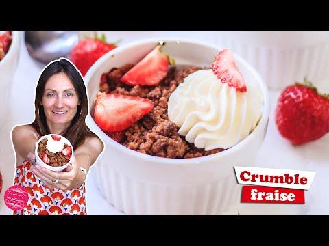 🍓-crumble-pomme,-fraise-et-spÉculoos-🍓